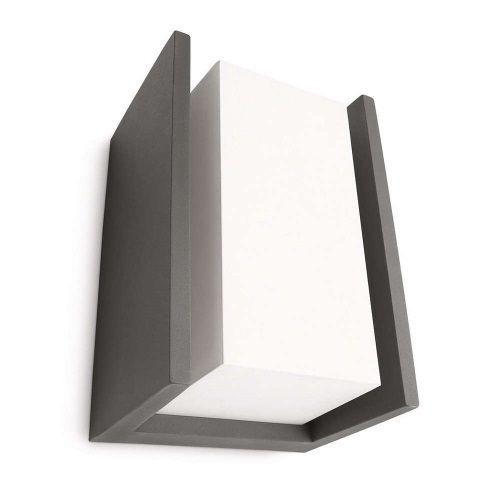 Aplique exterior bridge alvilamp for Aplique led philips
