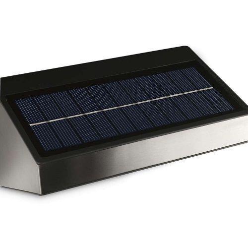 Aplique exterior greenhouse solar alvilamp - Aplique solar exterior ...