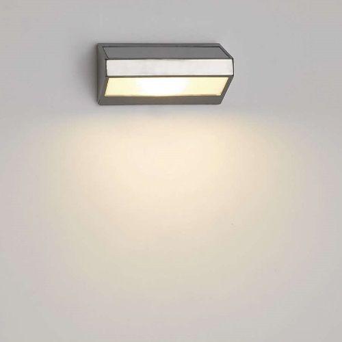 Aplique exterior greenhouse solar alvilamp for Aplique exterior led
