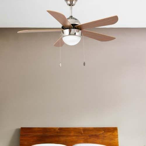 Ventilador de techo modelo veneto alvilamp - Ventilador bajo consumo ...