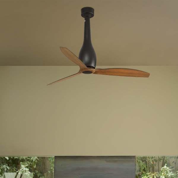 Ventilador de techo eterfan marr n alvilamp - Ventilador de techo cocina ...