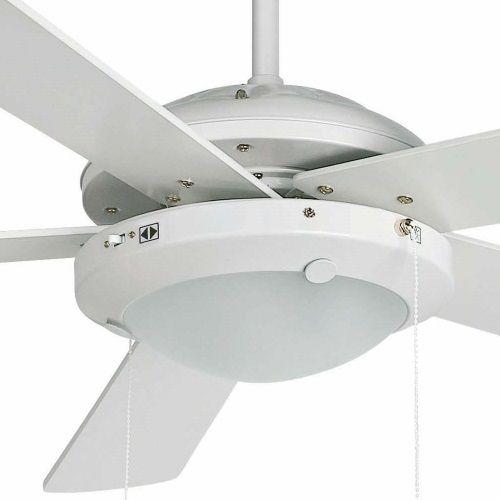 Ventilador de techo modelo manila blanco alvilamp - Ventilador techo con luz ...