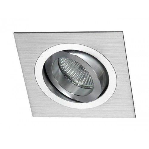 Empotrable orientable aluminio cepillado alvilamp - Focos de techo sin empotrar ...