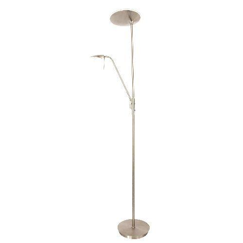L mpara de pie corral led regulable alvilamp - Lampara salon moderna ...