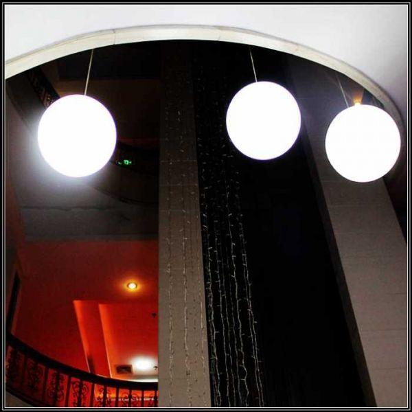 L mpara de colgar exterior ball alvilamp - Focos de bajo consumo para exterior ...