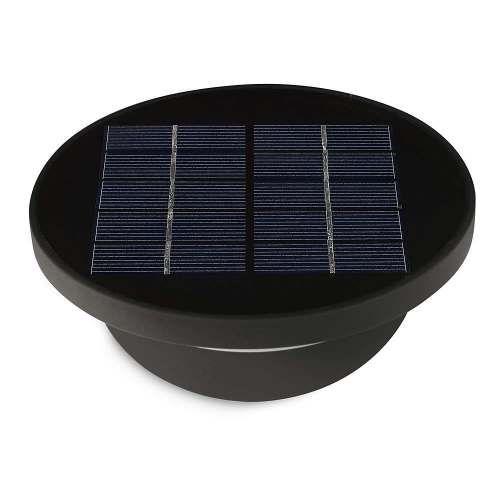 aplique exterior dusk solar alvilamp