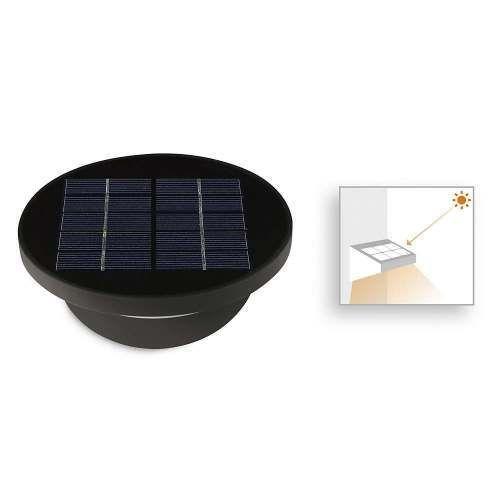 Aplique exterior dusk solar sensor alvilamp for Lampara solar pared exterior