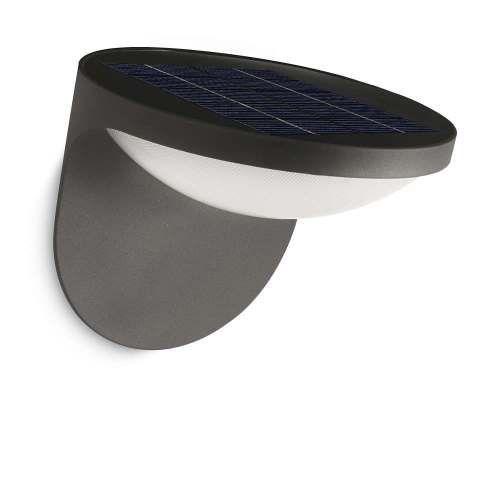 Aplique exterior dusk solar alvilamp for Aplique exterior solar led