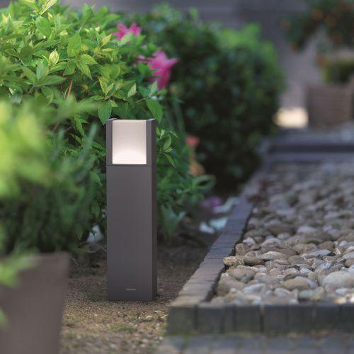 Farola exterior robin alvilamp - Focos de bajo consumo para exterior ...
