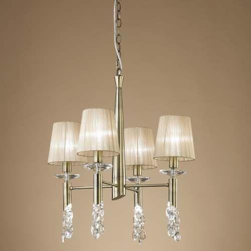 lamparas de techo tiffany Lmpara Tiffany Cuero 4L