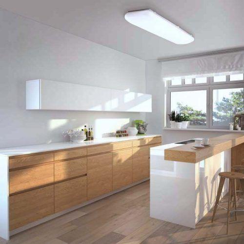 Downlight superficie led cuadrado 18w alvilamp - Plafon led cocina rectangular ...
